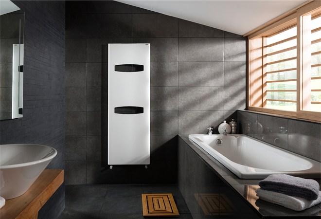 Iconic Reinvents The Bathroom Radiator Towel Rail Inside Id