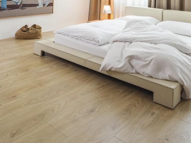Laminate flooring trends for 2015 revealed inside id - Laminat beige ...
