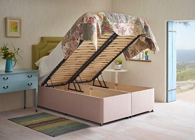 Spring Loaded Storage Bed For Designer Declutterers