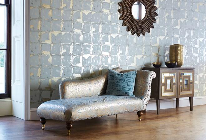 harlequin leonida wallpapers extol distressed opulence inside id