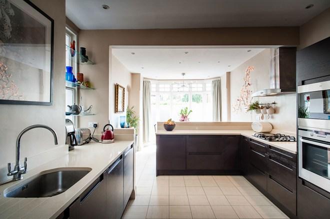Open Plan Edwardian Kitchen Renovation Inside Id