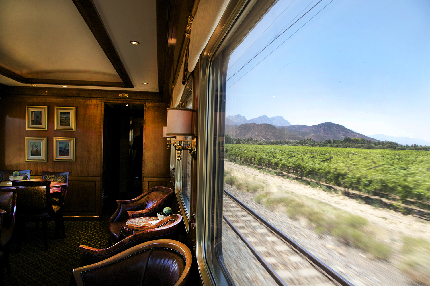 best railway journeys blue train south africa